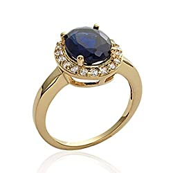 Women's Gold plated Cubic Zirconia Ring