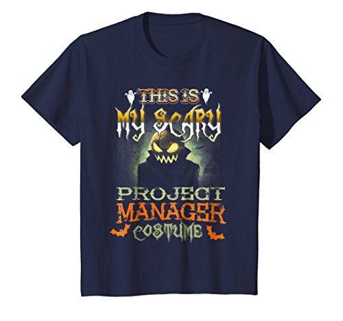 Kids This is My Scary Project Manager Costume Halloween Shirt 12 (Scary Projects For Halloween)