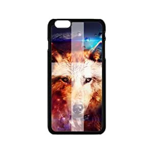 Cute Printed Howling Wolf Pattern Angry Wolves Werewolf Custom case cover for HTC One M8 wangjiang maoyi