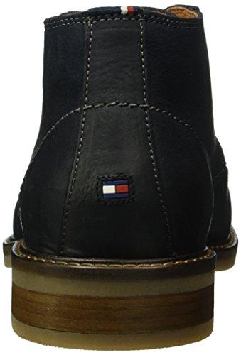 Tommy Hilfiger R2285ounder 3n, Zapatillas Altas para Hombre Azul - Blau (Navy 467)
