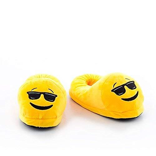 Zapatillas Emoji Gafas DE Sol Talla 35. Zapatillas Emoticono ...