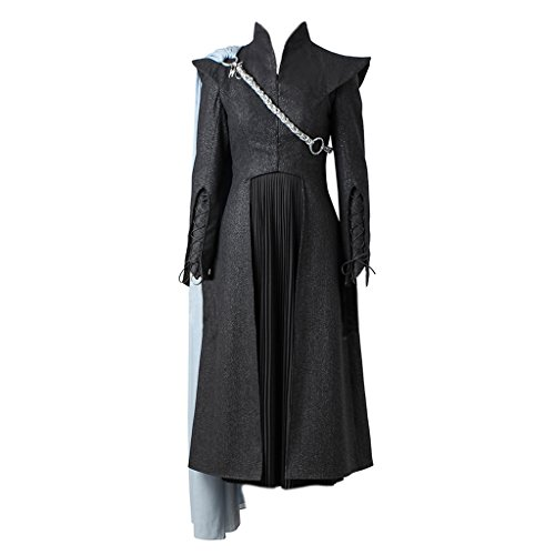 CosplayDiy Women's Suit for Game of Thrones VII Daenerys Targaryen Cosplay with Cloak L