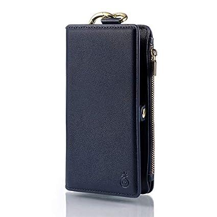 low priced c61e7 611d1 Amazon.com: Smartphone Purse Case for iPhone X,SIX-SEVEN Detachable ...