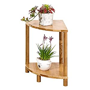 Amazon.com : AO Fan-Shape Corner Flower Pot Storage Rack