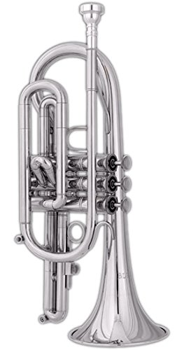Blessing BCRXLS Cornet, SilverPlated by Blessing
