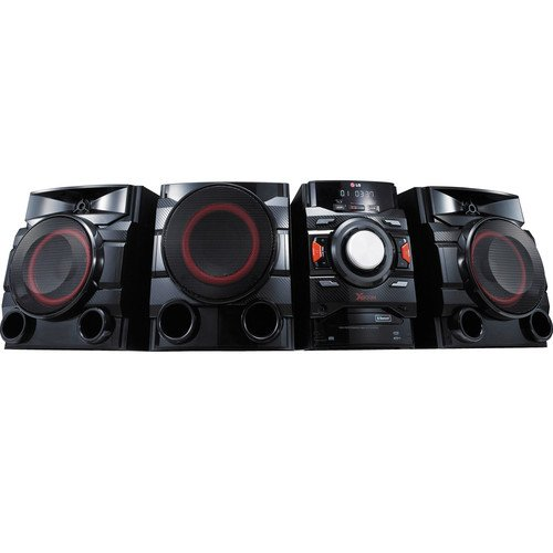 Click to buy LG 700-Watt Bluetooth Hi-Fi Audio Stereo Sound System With Single Disc Cd Player, AM/FM-Radio, Dual USB, Sound Sync, Remote Control - From only $249.95