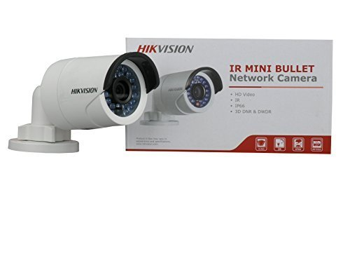 "Hikvision DS-2CD2032-I 1/3"" CMOS 3MP IR Fixed Focal Lens Bullet Camera HD Waterproof Security Network Cctv IP Camera 4mm"