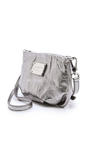 Bag by Marc Women's Classic Shiny Gunmetal Marc Percy Jacobs Q AUUd0q