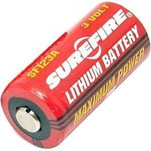Sf123a 3v Lithium Battery (Surefire SF123A 123A 3-Volt Lithium Batteries 8 Pack)