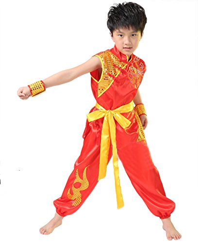 AvaCostume Sleeveless Sequined Dragon Uniform