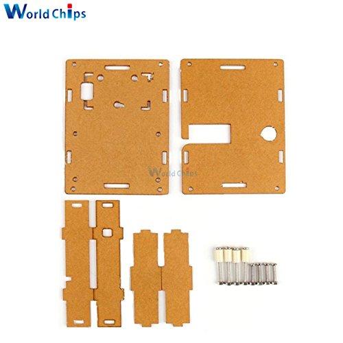 Clear Acrylic Case Shell Box For LCR-T4 M328 Transistor Tester Capacitance ESR SCR/MOS PNP Mega328