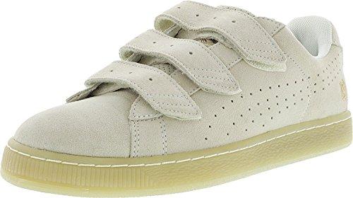 PUMA Herren X Careaux Basket Strap Knöchelhoher Fashion Sneaker Flüstern Weiß