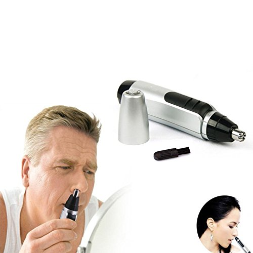 [1pcs Neat Clean Trimer Razor Electric Nose Hair Trimmer Ear Face Shaving Daily free shipping] (Old Spice Man Halloween Costume)