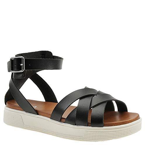 Valerie Platform Shoes - MIA Shoes Women's Valerie Sport Sandal, Black, 7 Medium US