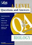 img - for A-level Questions and Answers Biology ('A' Level Questions and Answers Series) book / textbook / text book