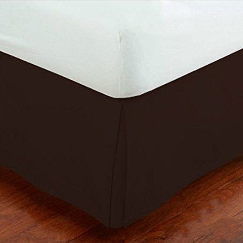 Fancy Collection Easy Care Tailored Microfiber 14-inch Bed Skirt Solid (Twin, ()