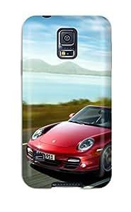 New Cute Funny Porsche 911 Turbo Cabrio Case Cover/ Galaxy S5 Case Cover