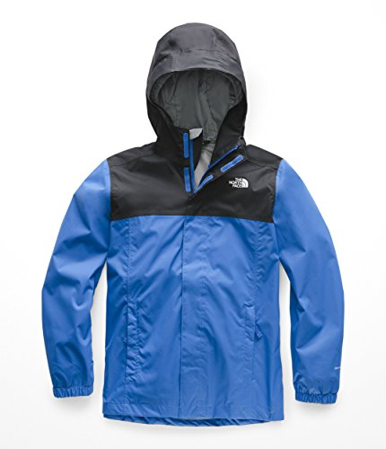 The North Face Kids Boy's Resolve Reflective Jacket (Little Kids/Big Kids) Turkish Sea X-Large (Youth North Face Ski Jacket)