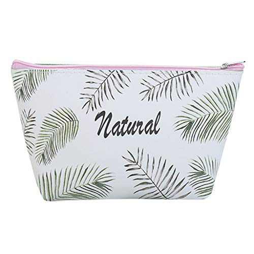 Kit Deluxe Party Kiwi - Wabaodan Makeup Bag/Travel Cosmetic Bags/Brush Pouch Toiletry Kit Fashion Women Jewelry Organizer with Zipper Make-up Carry Case Pencil Holder Portable Cube Purse (Green)