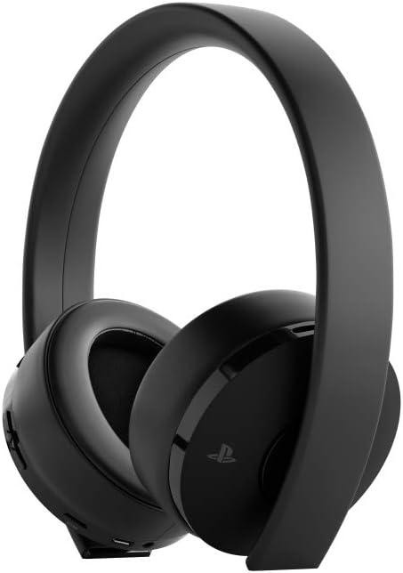 Sony Gold Wireless - Auriculares para juegos PS4, color negro