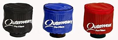 "New Outerwears Cover With Top For 3"" Diameter X 4"" Tall Air Filters, K&n Rc-1280 Ru-0100 Ru-0160 Ru-0200 Ru-0400 Ru-0700 Ru-1280, Karting Go Karts Sprint Cars Midgets Micro Mini Dwarf Legends"