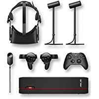 Oculus Rift VR Headset + Touch Controller + ASUS VivoPC X Console PC (A80CJ) with GeForce GTX 1060, Intel Core i5, 8GB DDR4 and 1TB HDD VR Bundle