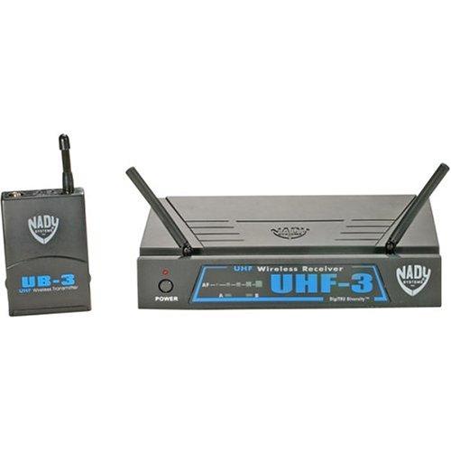 Nady UHF-3HTMU3/484.55 Single DigiTRU Diversity UHF Wireless Handheld Microphone System ()