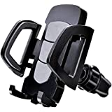 Car Phone Mount, Antter Strong air Vent Phone Stand Holder with 360-degree Rotation and Twist-Locking Function for iPhone Samsung LG Nexus Sony Nokia and More…, Black