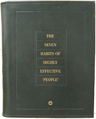 The 7 Habits of Highly Effective People Green Leather Personal Workbook
