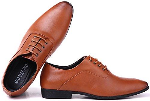 Scarpe Da Uomo Marine Oxford Per Uomo - Scarpe Da Ginnastica In Pelle - Scarpe Da Uomo Casual Classiche Tan - Oxford