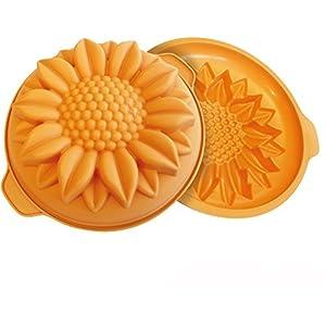 Silkomart 24.252.64.0063 Stampi, Silicone, Arancio 1 spesavip