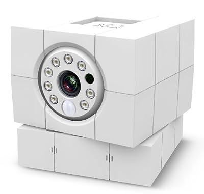 Amaryllo ACC1308A1WHUS iCam HD World First Skype HD Wireless IP Camera (White)