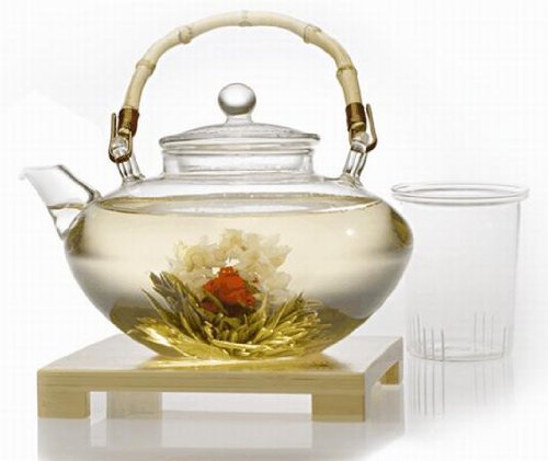 Teaposy Tea for More Glass Teapot, 48-Ounce Capacity