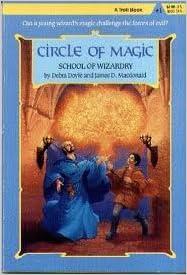 School of wizardry circle of magic debra doyle james d flip to back flip to front fandeluxe Image collections