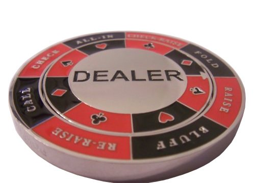 Spinning Dealer Button
