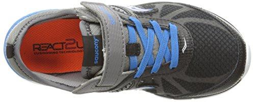 Saucony Volt Grey Sneaker Kid black Closure little blue Alternative rr7zwxqdnU