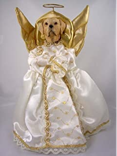 Carcasa tama/ño grande en forma de coraz/ón decoraci/ón para /árbol de Navidad Angelic Fashions