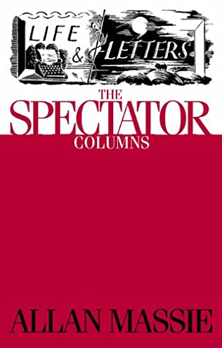 book cover of Life & Letters: The Spectator Columns