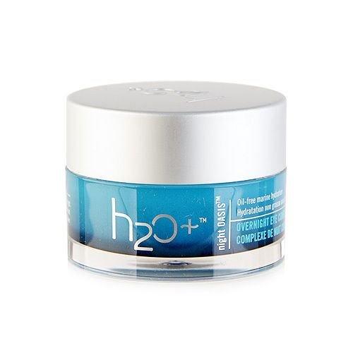 H2o+ Night Oasis Overnight Eye Complex 0.5oz,15ml Anti-aging Dark Circles Night Oasis Overnight Eye