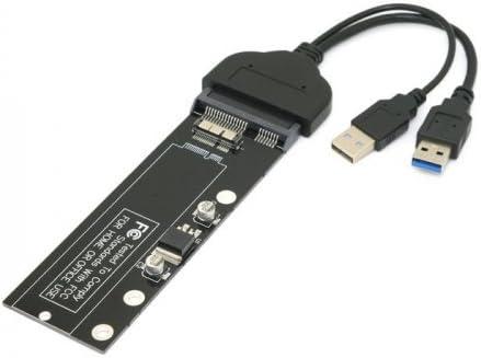 USB 3.0 A 12 + 6 Pines SSD HDD a SATA 22pin Unidad de Cartucho de ...