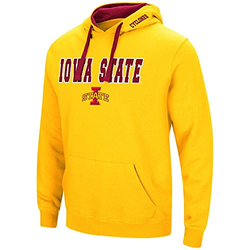 (Mens Iowa State Cyclones Pull-Over Hoodie - L)