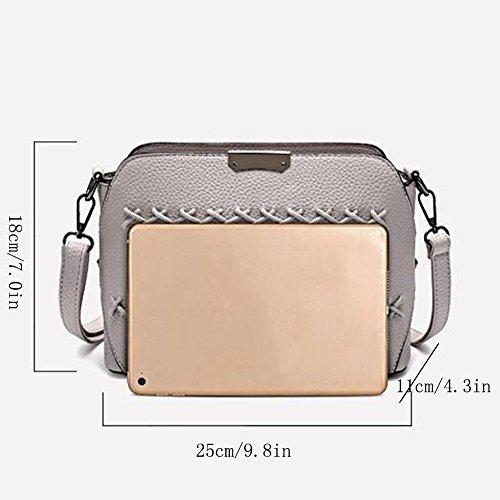 Bag Clutches Fashion Women Shoulder Bag Women Women's Women's Gray Bag Bags Handbag Bag Shoulder Handbags Shoulder Bags Leather Handbag Bag Tote Bag Shopping zfXzxqwSR