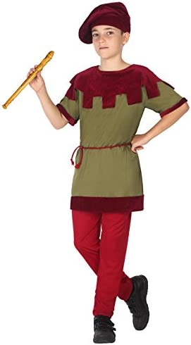 Atosa-39439 Disfraz Medieval, Color Verde, 5 A 6 Años (39439 ...