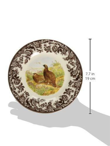 rg Spode Woodlands piatto di insalata 20 centimetri