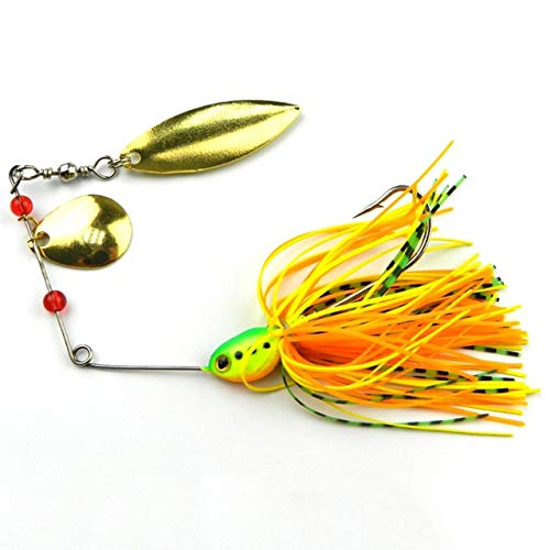 Jammas cycle zone Buzzbait Spiner Bait Spinner Lure Fishing Lure - Random Delivery - (Color: 1)