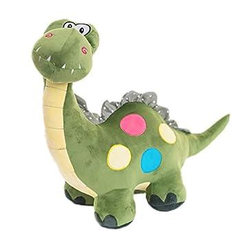 1 pedazo verde lindo dinosaurio juguetes de peluche para niño