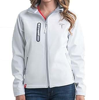 Tesla Women's Corp Jacket - White (M)