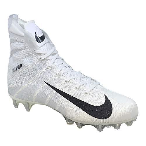 - Nike Vapor Untouchable 3 Elite Mens Football Cleats (10.5, White/White/Metallic Silver)