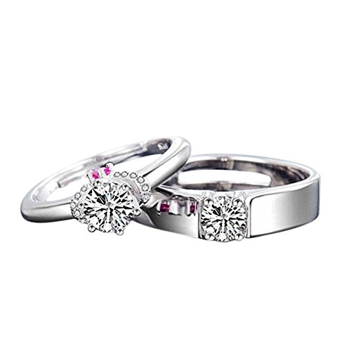 Youkara Promise Couple Ring Fashion Lovers Ring Valentine S Day