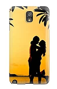 Anti-scratch And Shatterproof Romantic Hug Phone Case For Galaxy Note 3/ High Quality Tpu Case